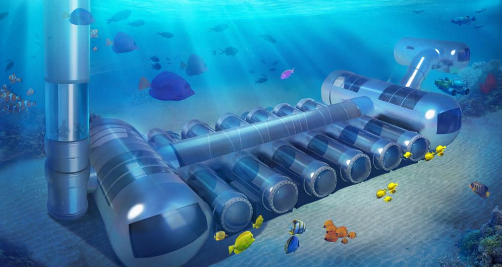 Unterwasser-Hotels in Deutschland?