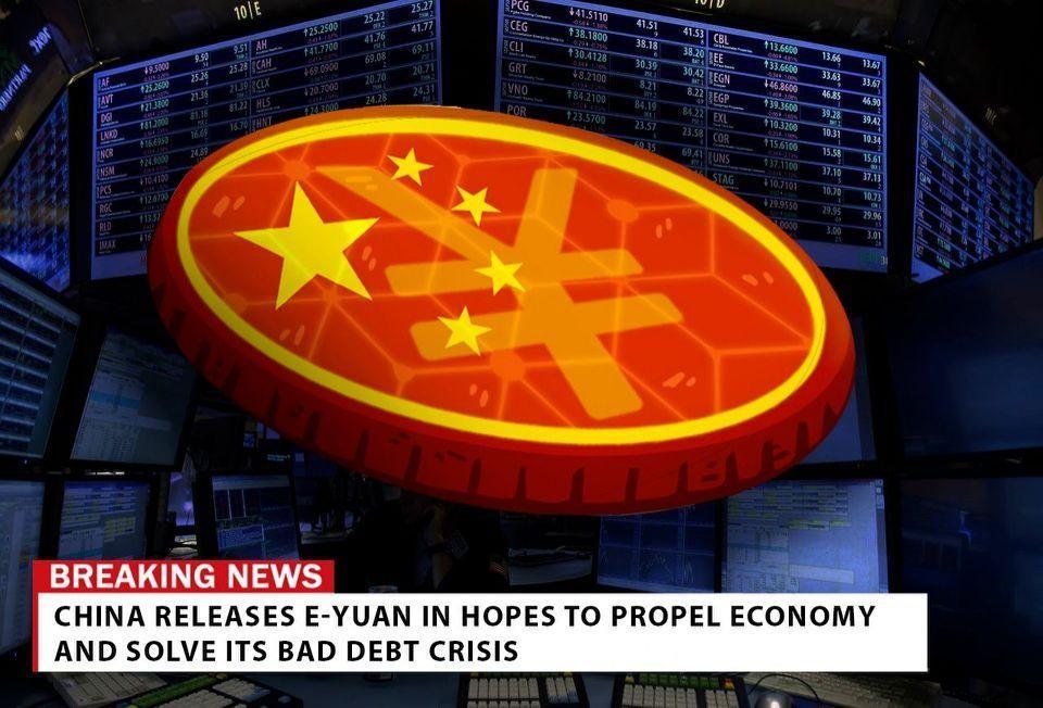 Chinas E-Yuan-Krypto-Währung bringt Investoren dazu, All-In zu gehen