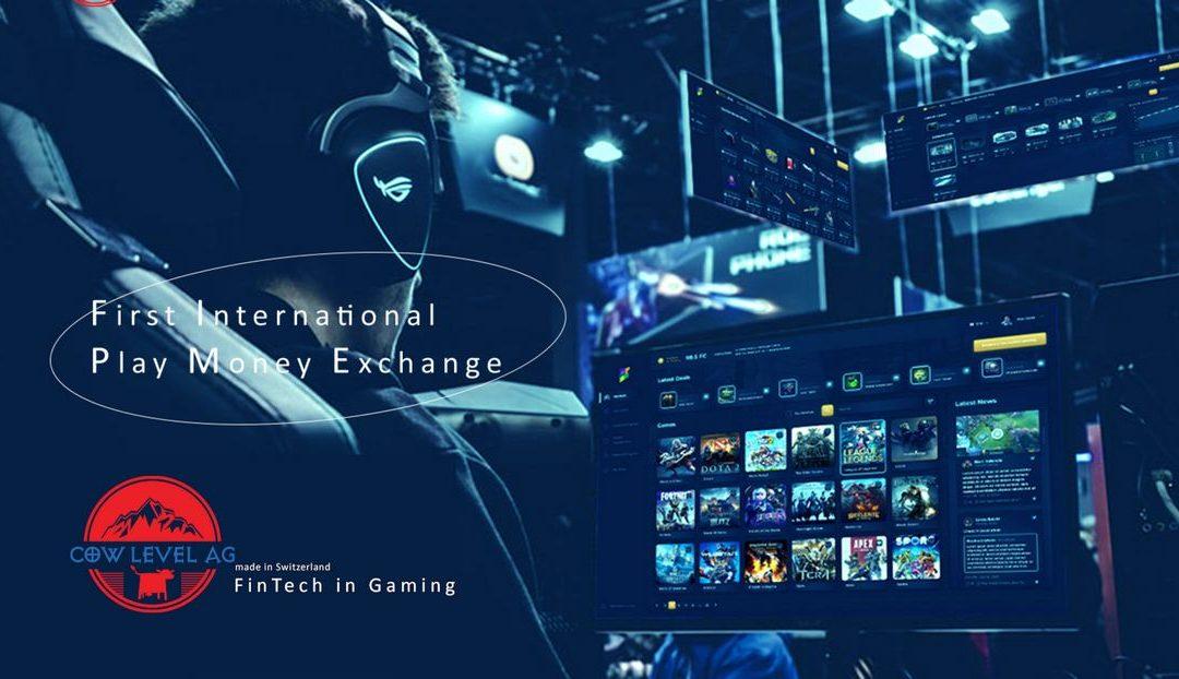 Cow Level AG und die First international Play Money Exchange bündeln Ihre Kräfte Die erste Börse für die 160 Milliarden Dollar schwere Welt der Videogames